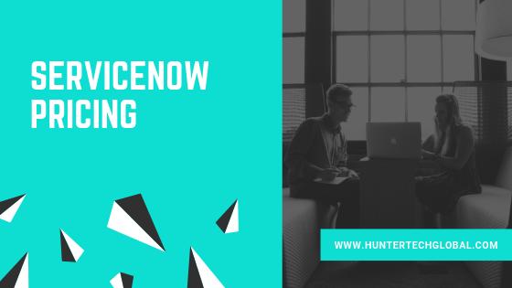 SERVICENOW PRICING-SERVICENOW DEMO-2019