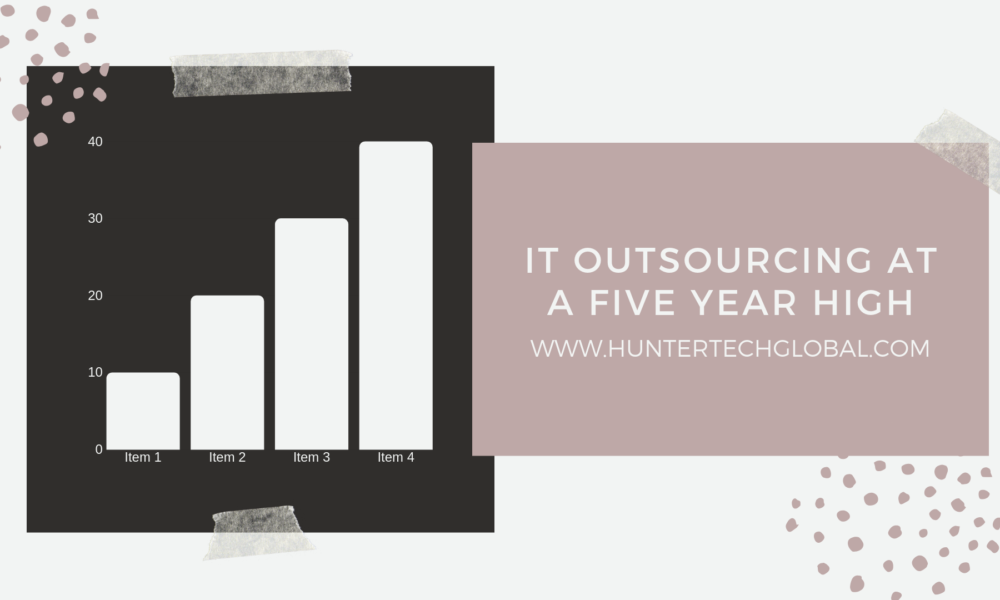 IT outsourcing at a five year high-2019