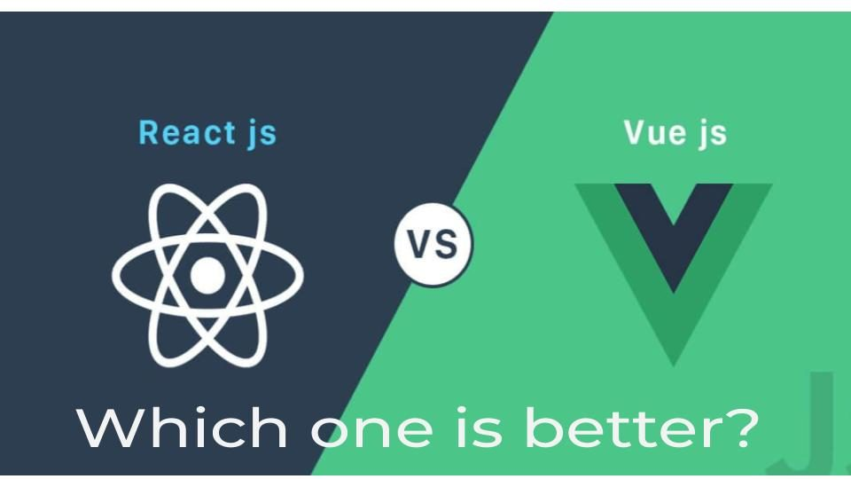 react js vs vue js- which one is best