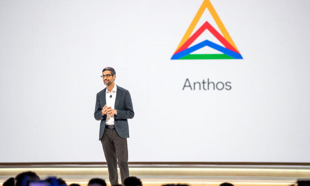 what is google cloud anthos